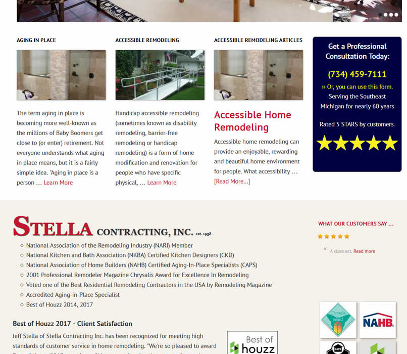 Stella Contracting – Home Remodeling in Plymouth, MI