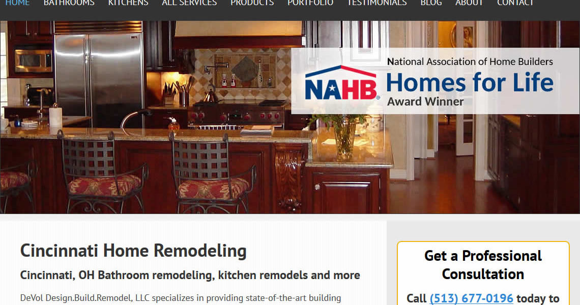 Home Remodeling Marketing: DeVol Design Build Remodel Chooses Mark Hager
