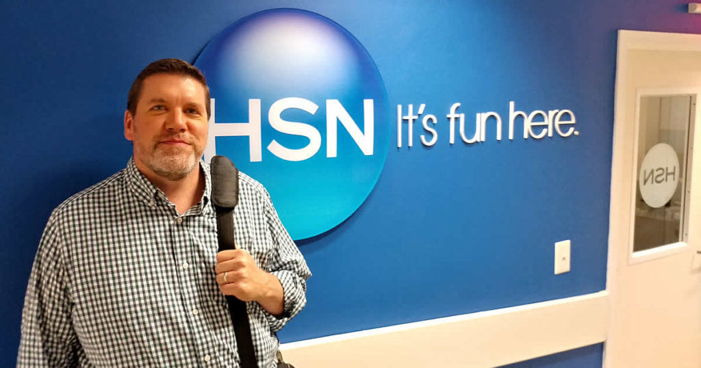 HSN - Mark Hager at sign